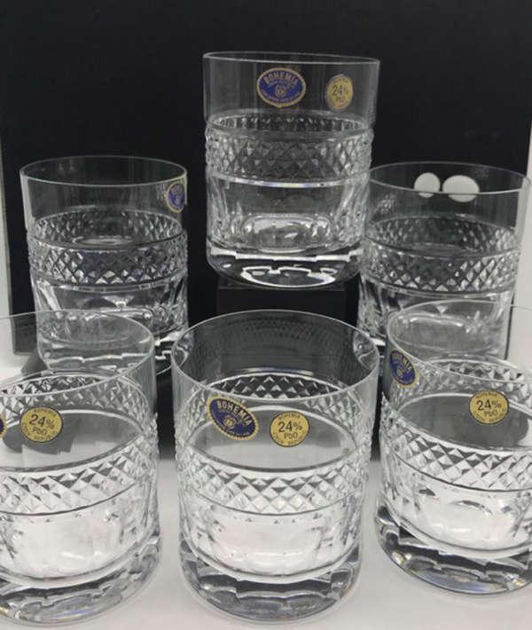 gobelet à whisky en cristal