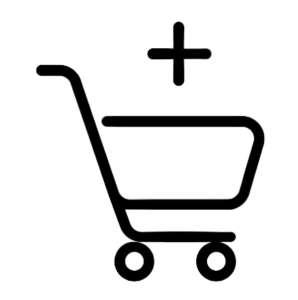 Panier des articles choisis pour effectuer un achat chez l'orfèvrerie Floutier