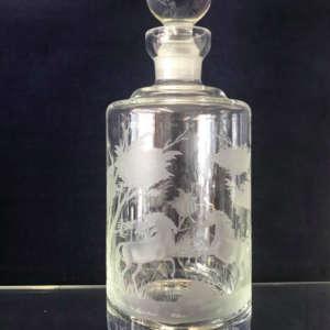 Flacon à whisky en cristal de Boheme