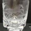 verre à whisky en cristal gravé