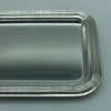 plateau à plume mariage gravure prénom date métal argenté argent cadeau, collègue de travail, plateau de qualité